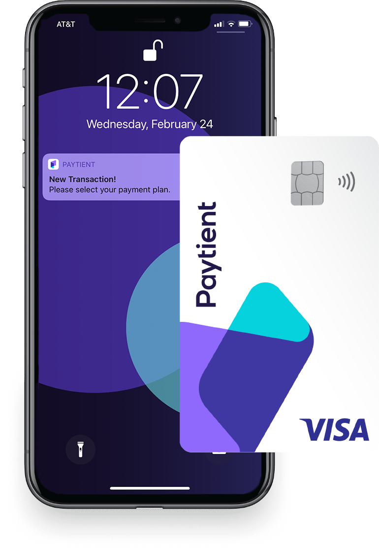Asset 1transaction screen and card